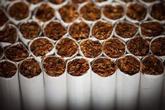 Cadena de producción de los cigarrillos Imagen de archivo