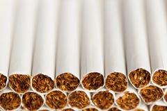 Cadena de producción de los cigarrillos Fotos de archivo