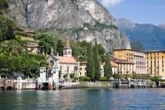 Cadenabbia, Como jezioro, Włochy Obraz Royalty Free