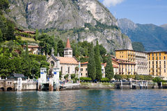 Cadenabbia, Como Lake, Italy Royalty Free Stock Image