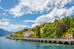 Cadenabbia, Como lake Royalty Free Stock Photos