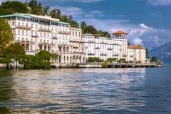 Cadenabbia, Jeziorny Como, Włochy Obrazy Royalty Free