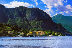 Cadenabbia town, Como Lake district landscape. Italy, Europe. Stock Images