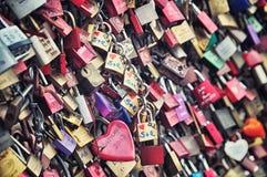 Cadenas d'amour à Cologne Image stock