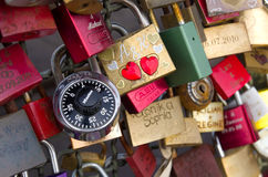 Cadenas d'amour Images stock