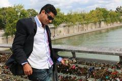 Cadenas d'amour de PARIS Photos libres de droits