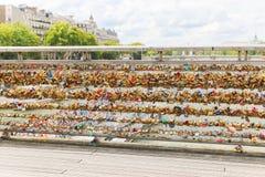 Cadenas d'amour, Paris Image libre de droits