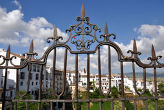 Cadenas d'amour, Ronda Spain Photos libres de droits