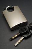 Cadenas de haute sécurité avec des clés spéciales Images stock