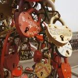 Cadenas de l'amour Image stock