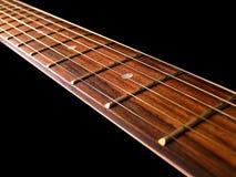 Cadenas de la guitarra Fotos de archivo libres de regalías