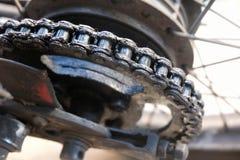 Cadenas de la moto Imagen de archivo