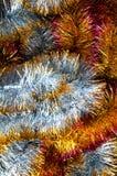 Cadenas de la Navidad Visión superior espacio Fotos de archivo