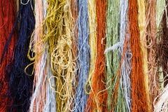 Cadenas del color Imágenes de archivo libres de regalías