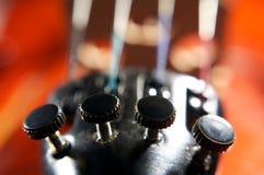cadenas del violín Fotografía de archivo