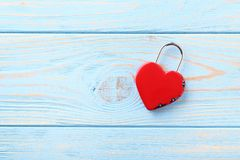 Cadenas en forme de coeur Photographie stock libre de droits