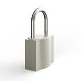 cadenas en métal 3d comme concept de sécurité Image stock