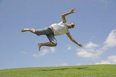 Cadendo dal cielo Fotografie Stock