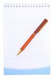 Caderno. Fotos de Stock Royalty Free