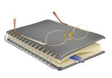 Caderno ilustração royalty free