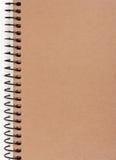 Caderno Imagem de Stock