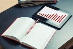 Caderno Foto de Stock Royalty Free
