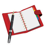 Caderno Fotos de Stock Royalty Free