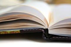 Caderno aberto Foto de Stock Royalty Free