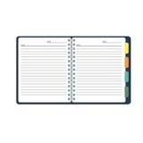 Caderno aberto do vetor com Livro Branco Imagem de Stock Royalty Free