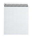 Caderno alinhado espiral Imagem de Stock