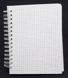 Caderno branco fotos de stock
