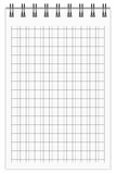 Caderno Checkered Imagem de Stock Royalty Free