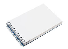 Caderno com espaço vazio para a escrita Fotografia de Stock