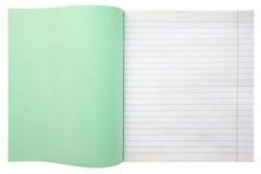 Caderno com linhas Imagem de Stock