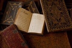 Caderno da contabilidade Fotografia de Stock