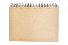 Caderno da tampa fotos de stock royalty free