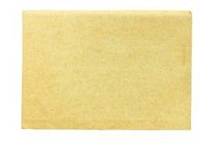Caderno da tampa isolado no fundo branco Fotos de Stock