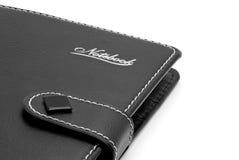 Caderno de couro Imagem de Stock Royalty Free