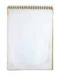 Caderno de Grunge Imagem de Stock Royalty Free