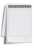 Caderno de papel Ilustração do Vetor