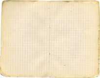 Caderno do exUSSR foto de stock