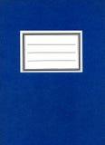 Caderno do fundo Imagens de Stock