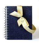Caderno do presente. imagens de stock