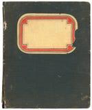 Caderno do vintage imagem de stock royalty free
