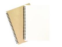 Caderno dois Imagem de Stock