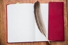 Caderno em branco Imagem de Stock