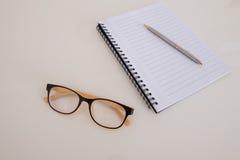 Caderno em branco Imagens de Stock Royalty Free