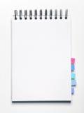 Caderno em branco com endereços da Internet Foto de Stock Royalty Free