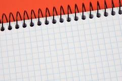 Caderno - escreva seu texto fotografia de stock