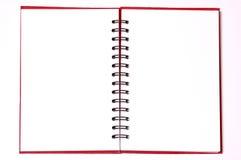 Caderno espiral Fotografia de Stock